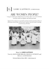 Are Women People? (priced for 7 copies of the score)