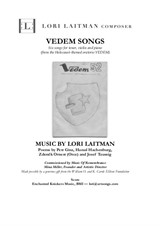 Vedem Songs — Tenor, Violin and Piano (Score and Violin part included)