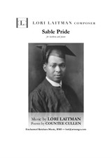 Sable Pride — for baritone and piano (priced for 2 copies)